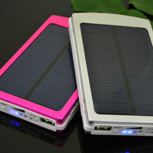 10000mAh Mini Solar Panel Energy Power Bank Charger