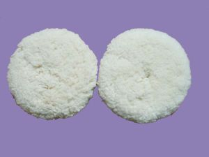 """8"""" Two-Side Bolt -On Wool Pad"""