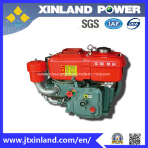 Horizontal Air Cooled 4-Stroke Diesel Engine R170 with ISO9001/ISO14001 pictures & photos