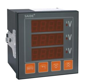 Digital Display Power Factor Meter (LED/LCD) pictures & photos