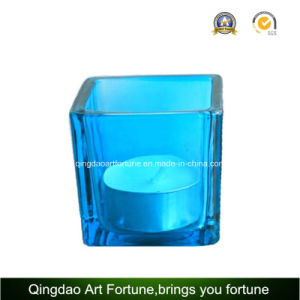 Mercury Glass Cube Votive Candle Holder Manufacturer pictures & photos