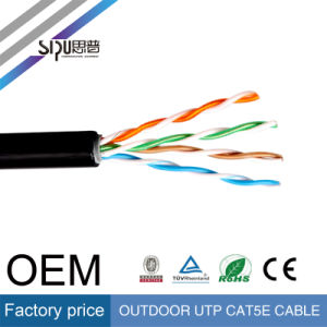 Sipu 0.5mm Copper Outdoor UTP Cat5e Network Cable with Ce pictures & photos