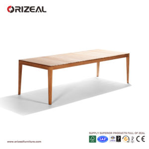 Outdoor Teak Wooden Dining Table Oz-Or077 pictures & photos