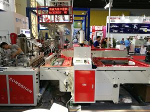 High Speed Hot Cutting T-Shirt Bag Making Machine (KS-1000D) pictures & photos