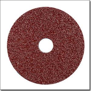 Round Abrasive 4′′ Fiber Disc for Auto Body Sanding Work pictures & photos