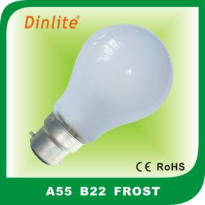 A55 E27/B22 incandescent bulb for indoor pictures & photos