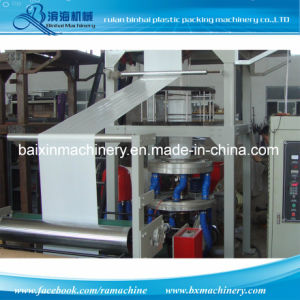Rotary Die Film Blowing Machine Factory Friction Rewinder pictures & photos