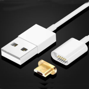Dust Port Plug Magnetic Connector Android Micro USB Magnet Cable for Samsung S7 pictures & photos