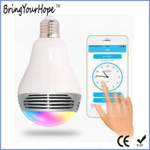 High Quality Colorful WiFi Bluetooth Music Wireless LED Bulb (XH-PS-657) pictures & photos
