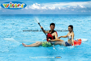 Single or Double Person Sit on Top 100% Clear Kayak pictures & photos