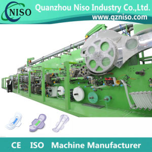 Ce Certification and Pulp Molding Machine Processing Type Sanitary Napkin Machine pictures & photos