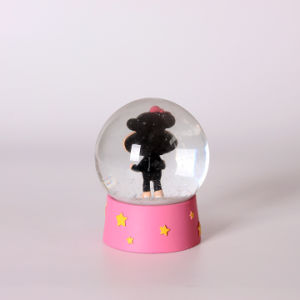 Good Quality 80mm Monkey Animal Snow Globe for Sale pictures & photos