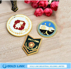 Baking Varnish Metal Badge Custom School Army Organization Emblem Pin pictures & photos