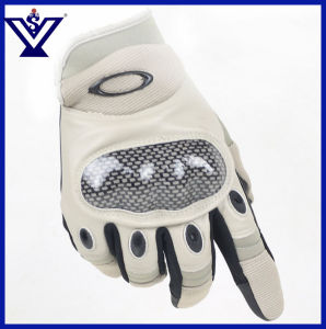 Outdoor Military Army Full Finger Combat Glove (SYSG-247) pictures & photos