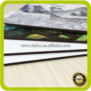 China Top Quality 32X23cm Square Sublimation Wooden Cork Placemat pictures & photos