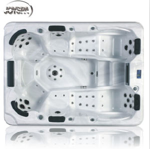 2014 New Design USA Acrylic Hot Tub SPA, Mutiple Jets Hot Tub Yh-593 (CE, SAA, ISO) pictures & photos