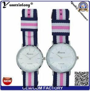 Yxl-547 OEM Logo Nylon Watch Many Color Band Man Wrist Watches Luxury Quartz Couple Watch pictures & photos