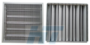 22% Steel Air Flow Panel System pictures & photos
