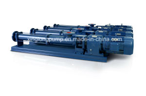 Xinglong Positive Cavity Screw Pumps for Sewage Sludge and Polymer Used in Waste Water Treatment pictures & photos