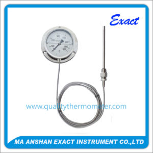 Gas Filled Manometric Thermometer-Mechanical Capillary Thermometer pictures & photos