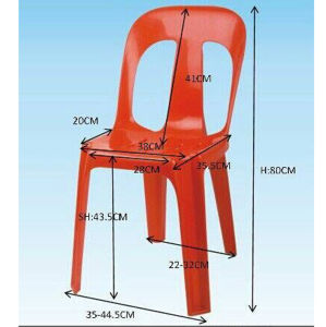 Stackable Cheap Outdoor Plastic Chairs pictures & photos