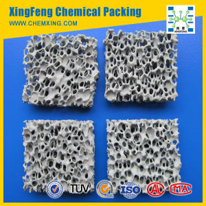 Metal Filtration Silicon Carbide Ceramic Foam Filter pictures & photos