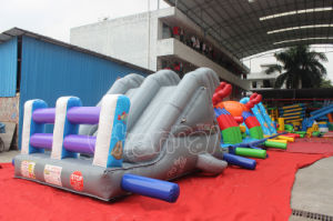 Hot Sale Ocean World Inflatable Fun City Obstacle for Kids (CHOB521-1) pictures & photos