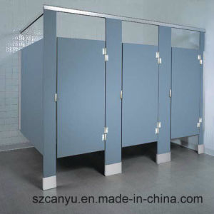 Public Wooden Waterproof Toilet Partition pictures & photos