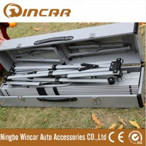 Folding Outdoor Camp Suitcase Picnic Table by Wincar pictures & photos