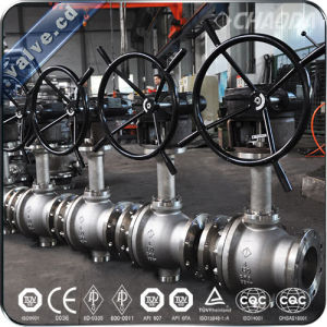 Cryogenic Trunnion Mounted Ball Valve pictures & photos