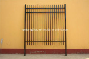 2.1m X2.4m Spear Top Security Steel Fence/ Steel Fencing pictures & photos