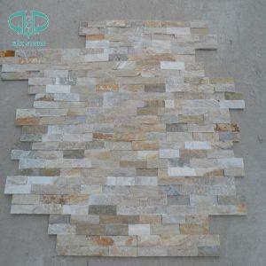 Slate Flagstone Slate, , Natural Slate Wall Panel, Yellow Slate pictures & photos