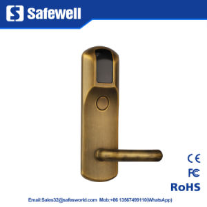 Yello Bronze Environmental Zinc Alloy Hotel Door Lock with RF System pictures & photos