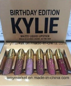 Kylie Jenner Birthday Edition Lip Gloss Kit with Series a/ B Matte Lipgloss pictures & photos