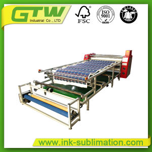 Roll to Roll Heat Transfer Machine with Sublimation Paper for Textile pictures & photos