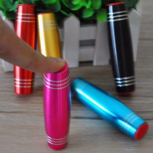 Fidget Toys Alloy Material Flip Stick Hand Amazing Tumbler Desk Toy Flip Fidget Spinner Stick Toy pictures & photos