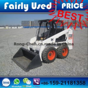 Used Bobcat S130 Skid Steer Loader (With Drill)