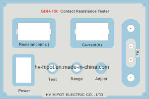 Manual Circuit Contact Resistance Tester GDH-100 pictures & photos