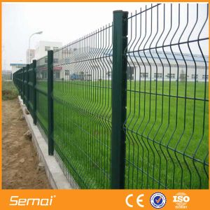 Cheap PVC Coated Welded Wire Mesh Fence pictures & photos