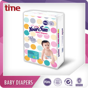 Soft Non Woven Topsheet Fast Absorbent Baby Diapers pictures & photos