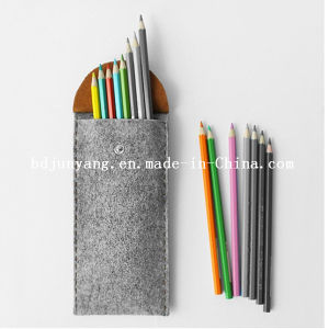 Excellent Quality Handmade Felt Pencil Bag with Zipper pictures & photos