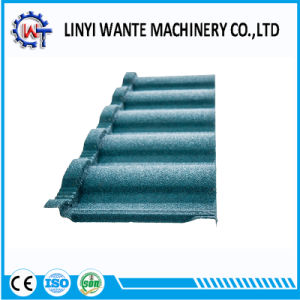 Nobility Stone Coated Metal Roman Roof Tile pictures & photos