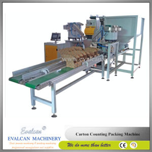 Automatic Plastic Dowel, Hollow Rivet, Snap Fastener Counting Packing Machine pictures & photos