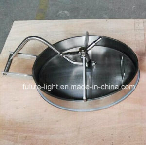 Sanitary Stainless Steel Elliptical Manhole Cover pictures & photos