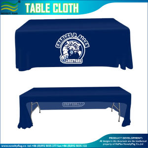300d Woven Polyester Table Cloth for Exhibition (B-NF18F05010) pictures & photos