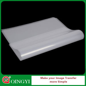 Qing Yi Waterborne Coatings Pet Film for Heat Transfer Sticker pictures & photos