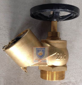 "2.5""Bsp British Standard Oblique Landing Valve pictures & photos"