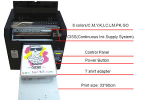 A3 Size 8-Channel High Speed UV LED Chocolate Printer pictures & photos