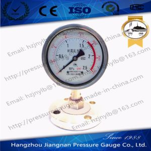 100mm 4′′ Stainless Steel Shock-Proof Oil Filled Pressure Gauge pictures & photos
