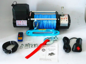 SUV 12V/24V DC Electric Tractor Winch (8500lbs-1) pictures & photos